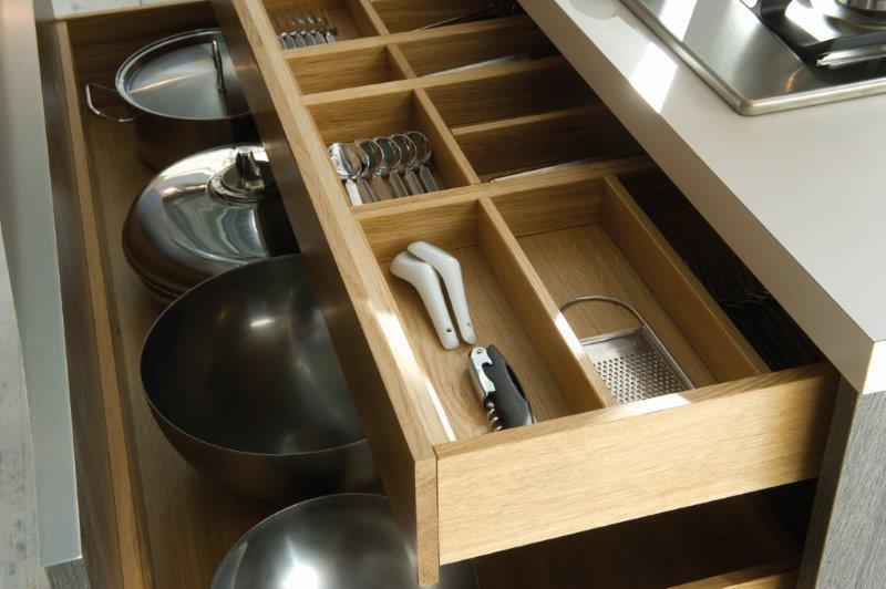 Küchendetail Schubkasten
